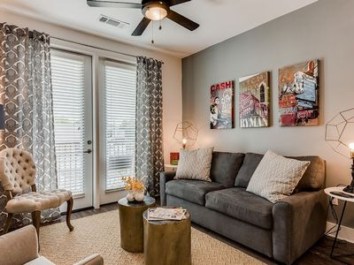 Photo for Fashionable 2BR w/ Pool in Heart of Music Row