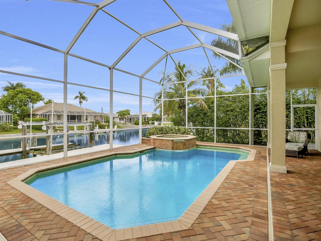 The Pool And Spa Are Ious Enough For Entire Family