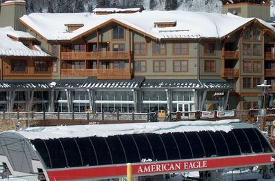 You can't get any closer. That's the American Eagle lift in foreground.
