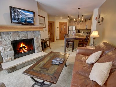 Photo for Quick walk to the slopes from Buffalo Lodge 8358 Village View, shared hot tub, pool and pool table by Summitcove Lodging