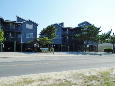 Photo for IC 4A, Ocean front condo, located in the center of town. Walking distance to pier and restaurants.