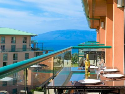 Photo for Maui Resort Rentals: Honua Kai - 3 Total Bedrooms,  Partial Ocean AND West Maui Mountain Views