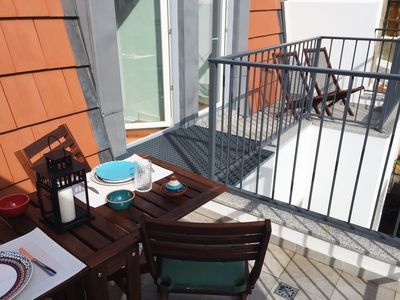 Photo for Sunny Apt Principe Real with terrasse and balcony