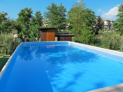 Photo for Apartment Ferienwohnung mit Pool (CET260) in Certaldo - 4 persons, 2 bedrooms