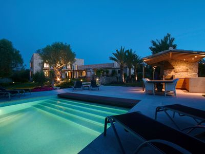 Photo for Mansion Bahia is a Stunning super villa in commanding hilltop position with views over Pollensa
