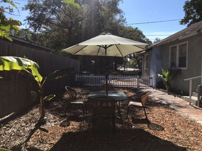 Photo for House 3rooms/1bath/Playground/Walk Downtown&Lido Beach / one free night