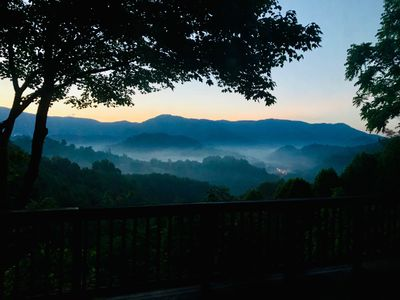 Photo for Charming cabin on 15 Acres with Expansive Mountain Views, minutes from Boone