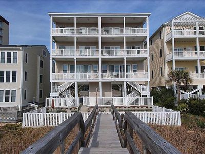 Photo for Seaside Days B, Pet Friendly, Oceanfront with Game Room and Shared Pool