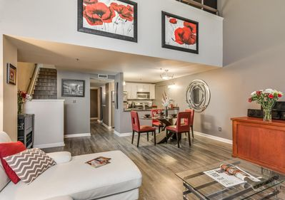 Nashville Rentals - Twins Room is on Lower Floor, Down the Hall,  behind the Kitchen