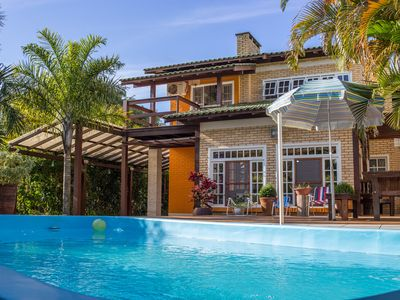 Photo for House with Pool in Barra de Ibiraquera, Imbituba, SC