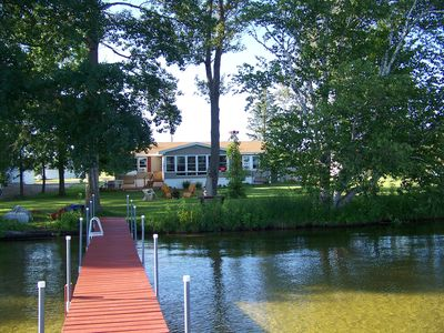 Photo for 3 Bed, 2 Bath Home on 100' Pickerel Lake