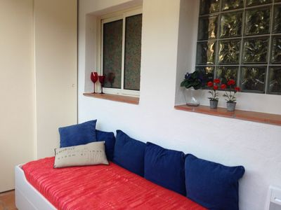 Photo for Apartment in garden res 300 m