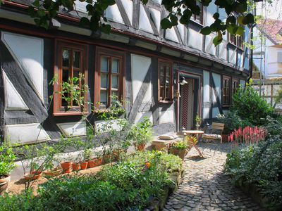 Photo for Comfortable & modern Staying in the half timbered ambience of the Old Parish Gudensberg