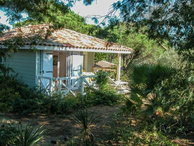 Photo for Air-conditioned house 4/6 pers. St Tropez in quiet park