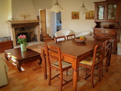Photo for Holidays on an ecological farm, in the apartment Alloro