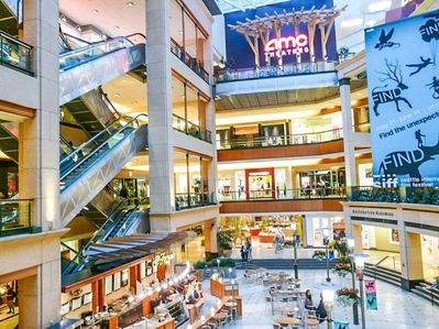 Inside of pacific place mall