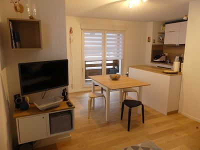 Photo for Pleasant 2 rooms in the center of the village of Les Rousses