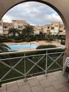 Photo for PALAVAS FLOATS DUPLEX 31M² SWIMMING POOL & SEA