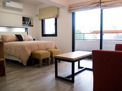 Photo for Abstract -Modern Studio w/balcony in Palermo Viejo