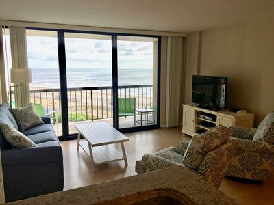 Photo for Oceanfront 3 BR Condo - Sea Colony