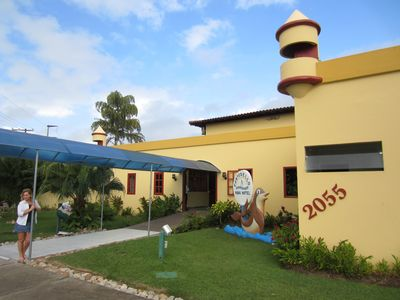 Photo for Apartments (hotel) Porto Seguro-Bahia -Brasil, 150m from the sea. Up to 4 people