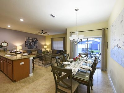 Photo for Lovely 4 BR Private Villa in Storey Lake Resort next to Disney!