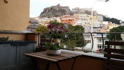 Photo for CENTRAL APARTMENT WITH BALCONY SEA VIEW AND CITY VIEW