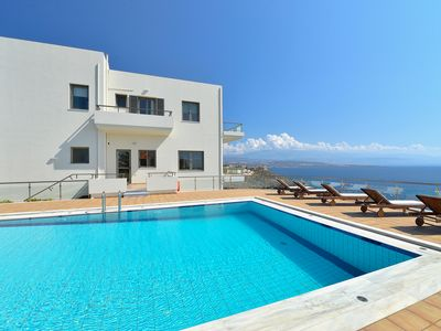 Photo for A beautiful sea side villa with private pool and indescribable sea view