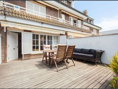 Photo for Terraced house 100 meters from the beach