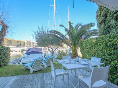 Photo for Flat for 4 persons with garden  et  mooring