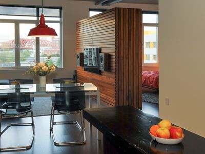 Photo for Elegant Pearl District Condo -- Prime Location! Dog Friendly, Free Parking, WIFI