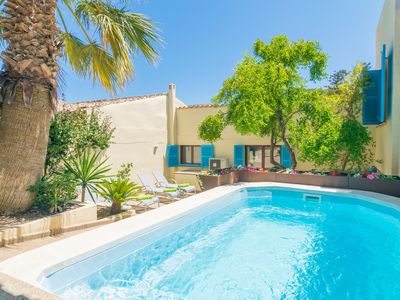 Photo for PLA DEN COSSET - Villa with private pool in Capdepera.