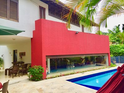 Photo for Comfortable house in gated community on the beach of Paúba