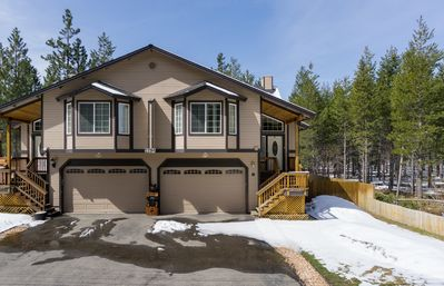 Photo for Vibrant Townhome with Hot Tub and Forest Views
