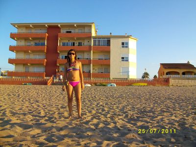 Photo for First Line of Beach in Denia