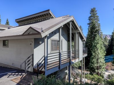 Photo for Spacious home near Huntington Lake, skiing, and forest/mountain views!