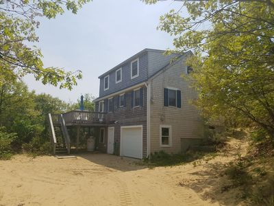Photo for Quintessential Beach House overlooking Cape Cod Bay in North Eastham..