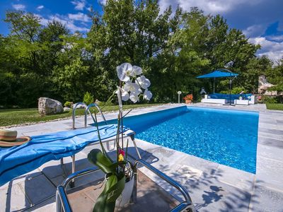 Photo for Holiday house Buzet for 6 - 7 persons with 3 bedrooms - Villa