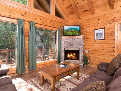 Photo for Blackberry Cobbler | Peaceful Wooded Location | Stream In Back | Pool Table | Hot Tub