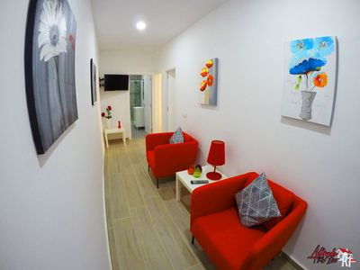 Photo for Beautiful renovated apartment with WIFI close to the beach