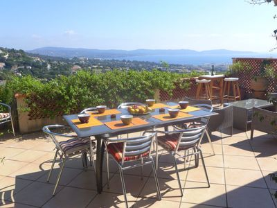 Photo for Apartment Les Jardins d'Azur  in Cavalaire, Cote d'Azur - 6 persons, 2 bedrooms