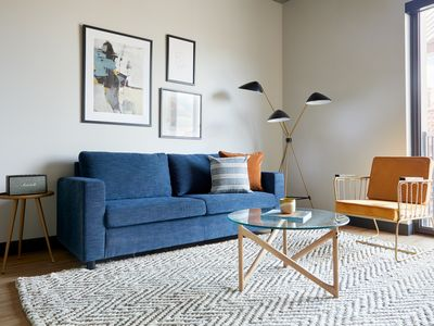 Photo for Sonder | Mill Ave | Industrial 1BR + Sofa Bed