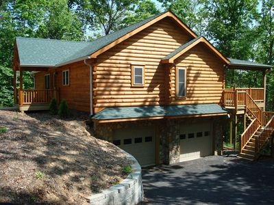Front of Chestnut Lodge