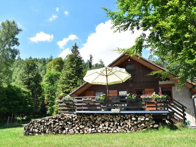 Photo for Cosy, detached chalet in lush valley with mountain stream 50 metres away