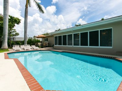 Photo for Large 4BR, Best Location in Hollywood Lakes, Heated Pool, Minutes From The Beach
