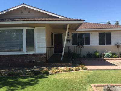 Beautiful Custom Mid Century Remodel with room for 6.  Keyless entry.