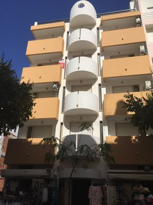Photo for Fabulously located top floor Apartment 2 minutes walk to Mont Gordo beach