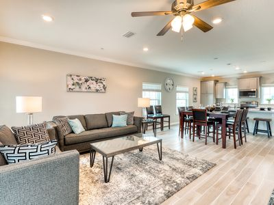 Photo for Beautiful townhome w/ ocean views, two shared pools, hot tub, & private beach