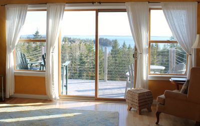 Photo for Delightful Maine Home with Panoramic Views of Water and Sky!