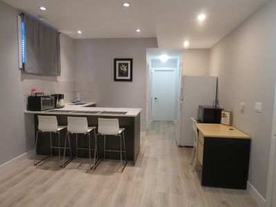 Photo for BRAND NEW!! BSMT SUITE - 2 MIN FROM D/T